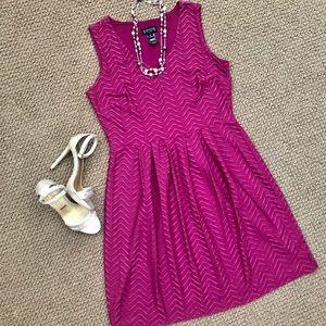 Enfocus Studio Violet Sleeveless Dress